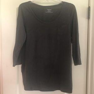 3/4 sleeve t shirt